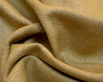 REMNANT Tan Textured Fabric 55 inches x 2.125 yards