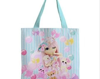 Pullip Pretty Miku tote bag