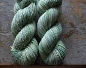 2-ply Fingering Weight Wool {Saxon blue + fustic}