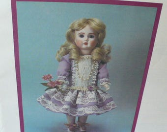 13 3/4 Inch Sewing Pattern Doll Gift, DIY Pattern Gift, Doll Clothes, Byron Violetta Doll Patterns, Doll Clothes Pattern,