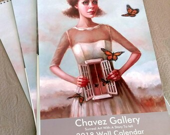 2018 Chavez Gallery Calendar