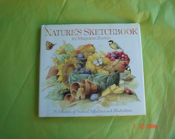 Nature's Sketchbook by Marjolein Bastin - A Collection of Personal Reflections and Ilustrations - Lovely