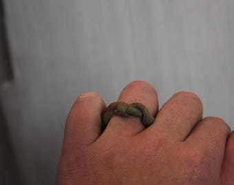 Mud Museum Wood fired stoneware clay  ring 1