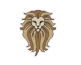 Plastic Canvas Lion King Wall Hanging PDF FORMAT Instant Download