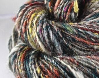Handspun Art Yarn Gently Textured Fleecespun Single Sheeping Beauties 'Cottage Life'