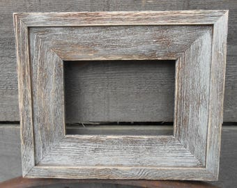 5x7 Barn Wood Rustic Handcrafted Handmade Barn Board Picture Frames Distressed Weathered