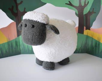 Brenda the Sheep toy knitting patterns