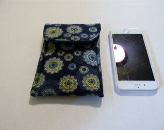 Blue Mandala Cell Phone/iPhone Case