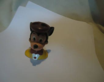 Vintage Mickey Mouse Plastic Bubble Blower Toy, collectable, Walt Disney