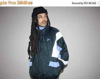On SALE 45% Off - 90s Vintage Nike Colorblock Hip Hop Windbreaker Jacket - 1990s Nike - 90s Clothing - MV0085