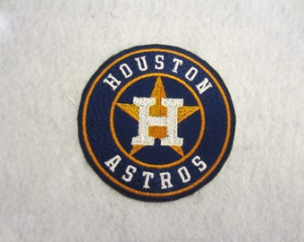 Embroidered Houston Astros Iron On Patch, Houston Astros, Football Patch, Houston Astros Applique, Iron On Patch, Iron On Applique, Houston