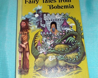 Vintage 1968 book Fairy Tales from Bohemia by Maurice and Pamela Michael