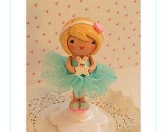 Ballerina Cake Topper, Ballerina Party, Ballerina Cake, One of a Kind Cake Topper, Ballerina Birthday, Ballerina Decor, Little Girl Birthday