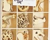 KaiserCraft Lucky Dip - Pets - Wooden Shapes Dog Cat