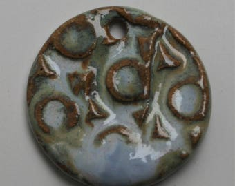 Handcrafted Ceramic Pendant PEN210814