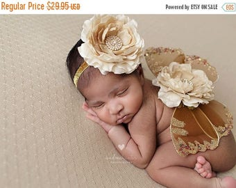 ON SALE NEWBORN Wings wings and headband set, Angel Wings, newborn photography prop, baby wings, fairy wings Free Shipping