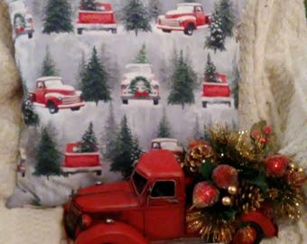 Red Truck Etsy