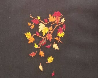 Autumn Kitchen Towel - Fall Leaves