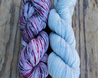 Merino Light - Fog & Wierwood - Colour Adventures (fibers: superwash merino)