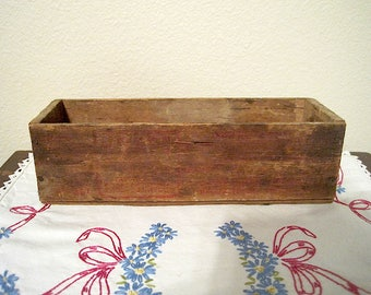 Old Wooden Kraft Pimento Cheese Box
