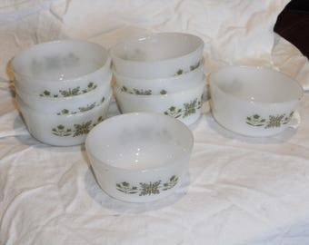 Vintage Fire King Custard Cups