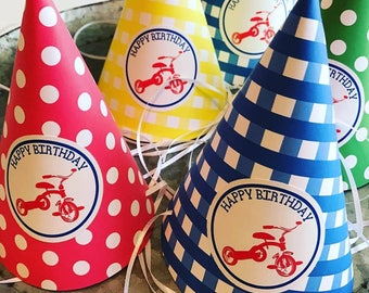 Tricycle Party Hats
