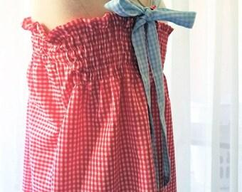 Girls Regency Gingham Halter Dress