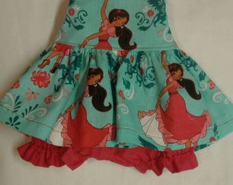 """Baby Alive  And Waldorf Doll Clothes Adorable Dress 10"""" 12"""" Or Disney Elena of Avor"""