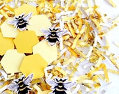 Mommy to Bee, Baby Shower, Confetti, Gender Reveal, Sweet As Honey, Bee Theme Party, Mama to Bee, Decorations, What Will It Bee, Honeycomb