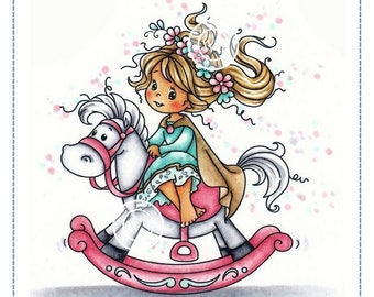 Whimsy Stamps -- Princess -- NEW  -- (#2303)
