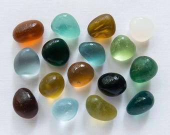 English Sea glass - Rock Pile -  Lot DC1134