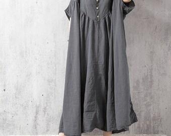 Oversized Loose Fitting Long Maxi Dress, Gown, Oversized Dress, Dress