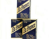 Vintage Box La France Laundry Bluing Powder Laundry Additive