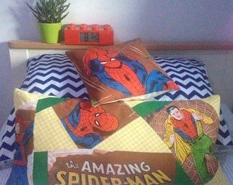 marvel pillow superhero spiderman homecoming cushion kids room boys room superheroes boys birthday gift superhero birthday boys pillow