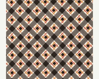 SALE 30% OFF - FLORENCE Lincoln Log in Carnelian Pwds055 - Denyse Schmidt - Free Spirit Fabric - By the Yard