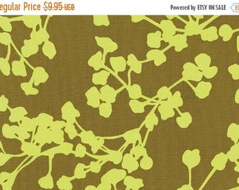 10% OFF SALE - Amy Butler BELLE - Coriander in Olive Ab112 - Rowan Westminster Fabric - 1 Yard