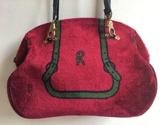 Roberta Di Camerino Velvet Bag