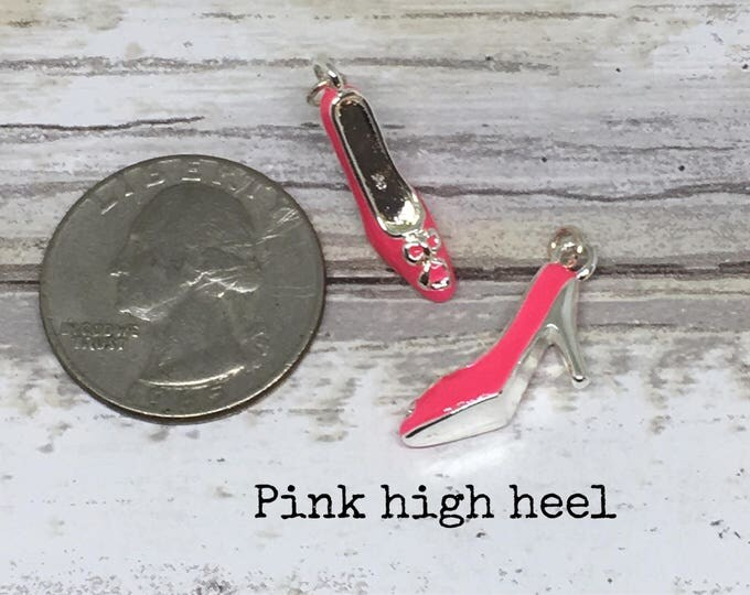Shoe charm necklace
