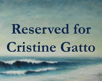 Reserved for Cristine Gatto two original watercolours - starfish and mussel shell illustrations seashell ocean beach coastal series