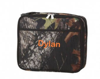 Personalized Camo Lunchbox