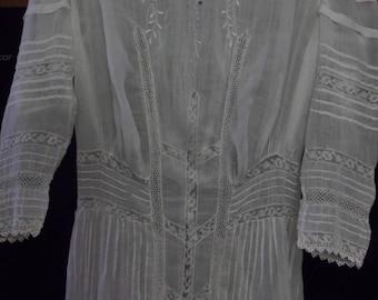 Edwardian Day Dress