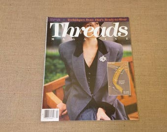 Threads Magazine February March 1990 Back Issue Number 27