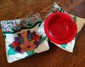 Flowers  Microwave Hotpads/Cozies--Set of 2