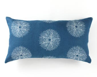 Kelly Wearstler for Lee Jofa Sea Urchin Pillow (comes in Teal and Ebony/Ivory)