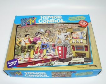 MTV Remote Control Trivia Game By Pressman 1989 TV Music Television Rare Complete