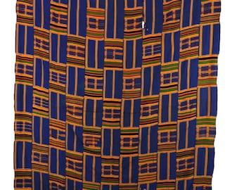 Kente Handwoven Cloth Asante Ghana African Art 102172