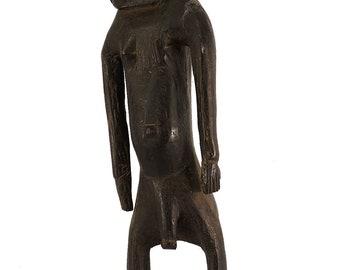Luguru? Statue Standing Male Wood Tanzania African Art 96605