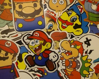 Mario Brother's Stickers (10)