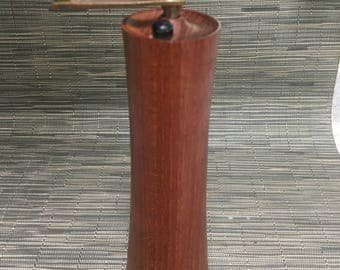 Danish teak pepper mill by Laurids Lonborg of Denmark