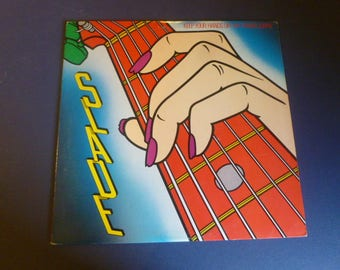 Slade Keep Your Hands Off My Power Supply Vinyl Record LP FZ 39336 CBS Records 1984